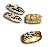 wedding rings - Christian Wedding Rings